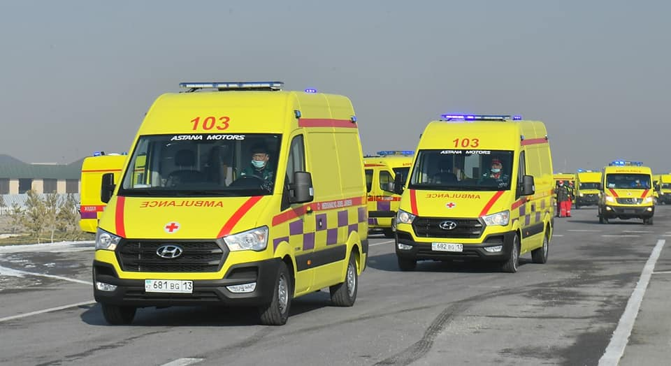 200 SETS OF AMBULANCE EQUIPMENT FOR SAMGAU MED GROUP OF KAZAKISTAN - AUGUST 2020