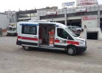 European type ambulance